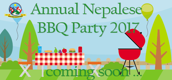 Annual Nepalese BBQ 2017